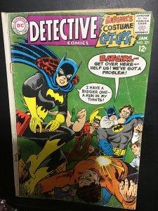 Detective Comics #371 (1968) New Batgirl!1st New Batmobile! VG Neal Adams Art