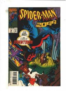 Spider-man 2099 #14 VF/NM 9.0 Marvel Comics 1993 Peter David