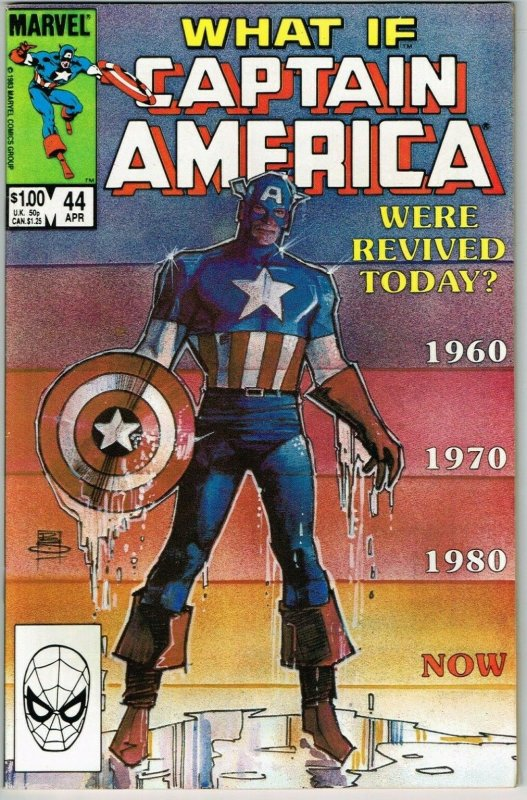 What If #44 (1977) - 9.0 VF/NM *What If Captain America Were Revived Today*   Comic Books - Copper Age, Marvel, Captain America, Superhero / HipComic