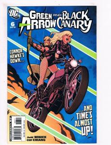 Green Arrow And Black Canary # 6 NM 1st Print DC Comic Book CW TV Show Flash S61