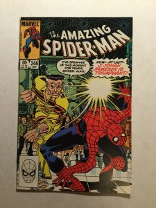 Amazing Spider-Man 246 Near Mint Nm Direct Edition Marvel