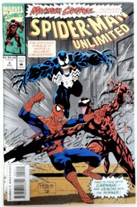 Spider-Man Unlimited #2   NM  MARVEL  Comic  MAXIMUM CARNAGE SPIDERMAN VENOM