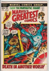 Marvel's Greatest Comics #38 (Oct-72) NM- High-Grade Fantastic Four, Mr. Fant...