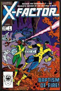 X-Factor #1 (Feb 1986, Marvel) 9.2 NM-