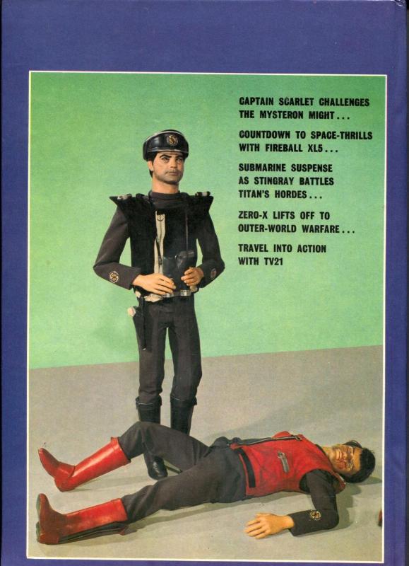 TV 21 Annual 1969-- Thunderbirds- Fireball- Zero X- Stingray