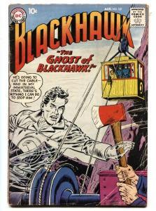 BLACKHAWK COMICS #127 1958-DC COMICS-WILD GHOST COVER-bargain copy G