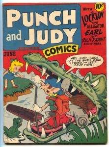Punch and Judy Vol. 2 #11 1947-Hillman-2 Jack Kirby stories-FN+