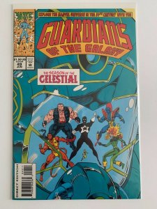 Guardians of The Galaxy #49 Season of the Celestial Marvel Comics  NM