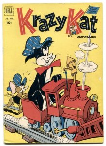 Krazy Kat  #4 1952- Dell comics- Ignatz Mouse FN