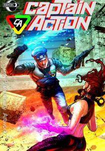 Captain Action Season Two #2A VF; Moonstone | save on shipping - details inside