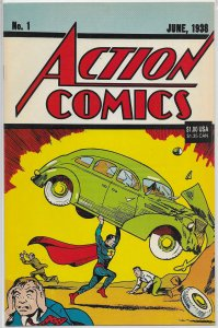 Action Comics vol. 1 # 1 (rep. 1992) FN