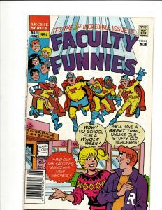 Lot Of 11 Mixed Archie Comics Faculty Funnies, R/C Adventures, 3000 WS7