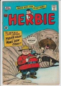 Herbie # 13 Strict VF Artist Ogden Cover Walrus & Canadian Mounted Police