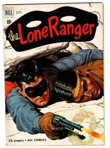 THE LONE RANGER #39-comic book 1951-DELL-TONTO-SILVER-SILVER BULLET vf