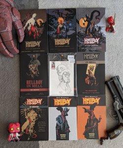 Hellboy/BPRD/Abe Sapien TPB Lot