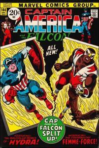 Marvel CAPTAIN AMERICA (1968 Series) #144 VG+