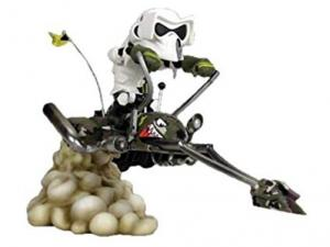 SDCC 2008 Exclusive Camouflage Speederbike Kustomz Statue
