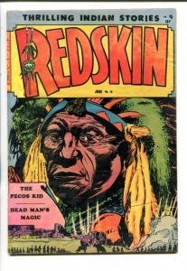 REDSKIN #10 1952-PRE CODE HORROR-INDIANS-BUFFALO BILL-vg+