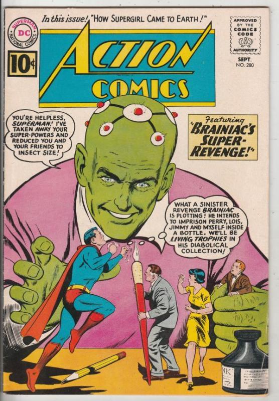 Action Comics #280 (Sep-81) VF/NM High-Grade Superman