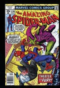 Amazing Spider-Man #179 VF+ 8.5 Green Goblin! Marvel Comics Spiderman