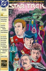 Star Trek (4th Series) #24 VF/NM; DC | save on shipping - details inside