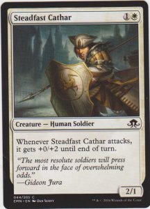 Magic the Gathering: Eldritch Moon - Steadfast Cathar