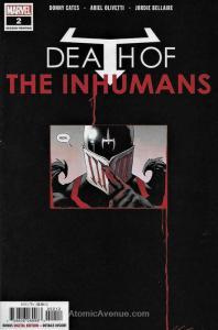 Death of Inhumans #2 (2nd) VF; Marvel | save on shipping - details inside