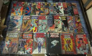 Captain Atom Collection! 29 issues 1987-1991! Cary Bates, Superman, Mr Miracle!