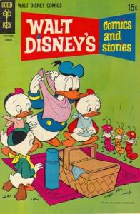 Walt Disney's Comics and Stories #347, VG- (Stock photo)