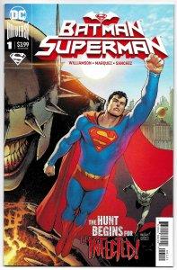 Batman Superman #1 Superman Cvr (DC, 2019) NM