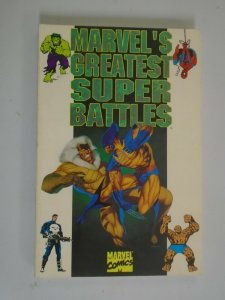 Marvel's Greatest Super Battles TPB SC 6.0 FN (1994)