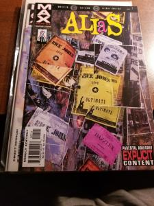 ALIAS #7 (2002) MARVEL MAX JESSICA JONES-NM-MT Never Read- Bendis