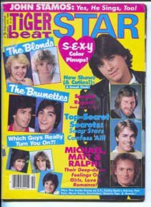 Tiger Beat- Star 10/1982-WP-John Stamos-Matt Dillon-Cathy Bach-Chris Atkins-r...