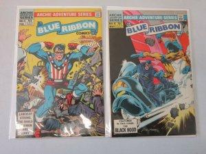 Blue Ribbon Comics #5 and #8 6.0 FN (1984)