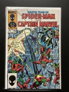 Marvel Team-Up #142 (1972 Marvel) feat. Captain Marvel