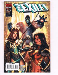 New Exiles # 14 VF/NM Marvel Comics X-Men Blink Cannonball Sabretooth Morph SW14