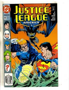 Lot Of 4 Justice League America DC Comics # 66 67 68 69 Batman Flash Arrow CR17