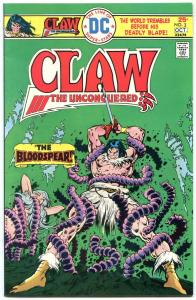 CLAW #3 1975-GREAT COVER-HIGH GRADE VF/NM