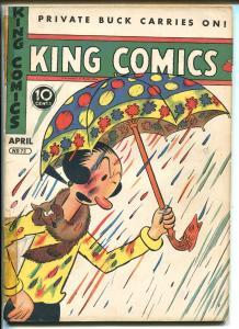 KING #72 1942-DAVID MCKAY-POPEYE-FLASH GORDON-MANDRAKE-PHANTOM-vg minus