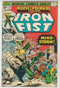 Marvel Premier #25 (Oct-75) VF/NM High-Grade Iron Fist