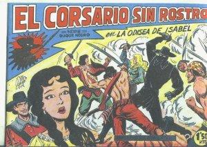 El Corsario sin Rostro, facsimil numero 13: La odisea de Isabel