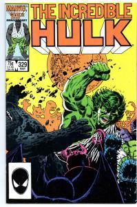 HULK #329, VF, Incredible, Bruce Banner, 1968 1987, more Marvel in store