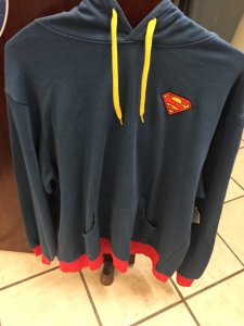 Superman Fortress of Solitude Hoodie 2XL
