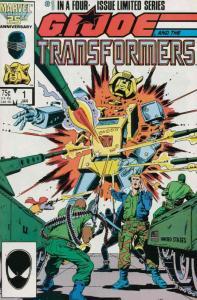 GI JOE & TRANSFORMERS 1 VF-NM