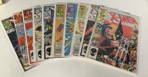Uncanny X-Men 211 212 213 214 215 216 217 218 219 220 Vf-Nm Marvel Comics