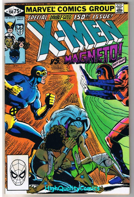 X-MEN #150, VF, Wolverine, Chris Claremont, Uncanny, more in store