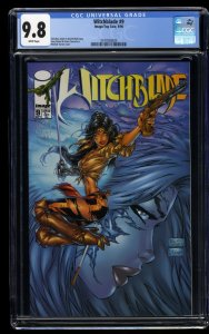 Witchblade #9 CGC NM/M 9.8 White Pages