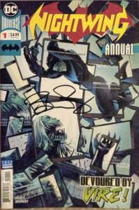 Nightwing #1 Annual NM *Signed by * Benjamin Percy with COA