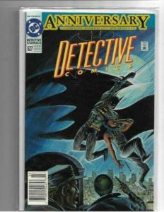 DETECTIVE COMICS #627 - NM - DC ANNIVERSARY ISSUE! 600TH APPEARANCE! NEWSTAND