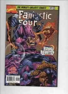 FANTASTIC FOUR #12, Vol 2, NM, Jim Lee, Human Torch, more FF in store, 1996 1997